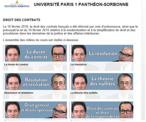 Vidéos du MOOC Sorbonne DC 3