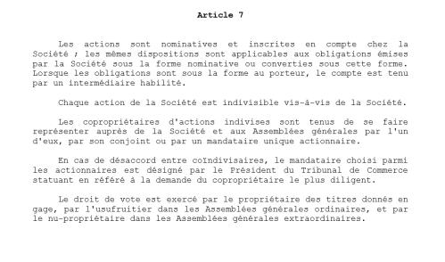 Art. 8 statuts Michelin actions.PNG
