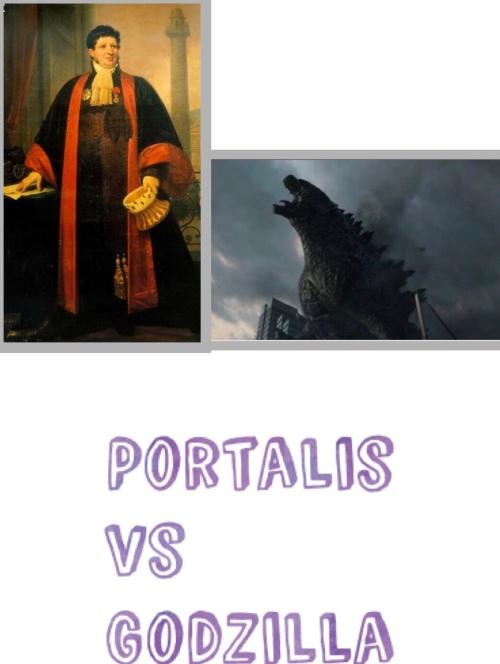 Portalis contre Godzilla
