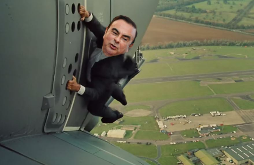 Ghosn parachute